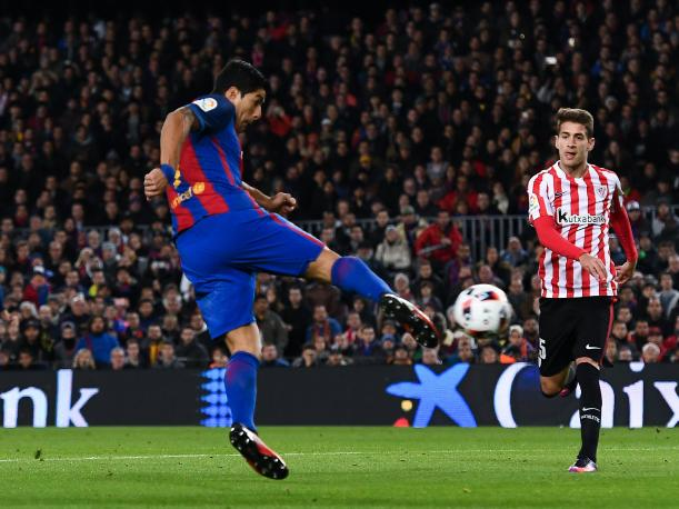 Barcelona vs Athletic Bilbao: Luis Suárez anotó espectacular gol por la Copa del Rey