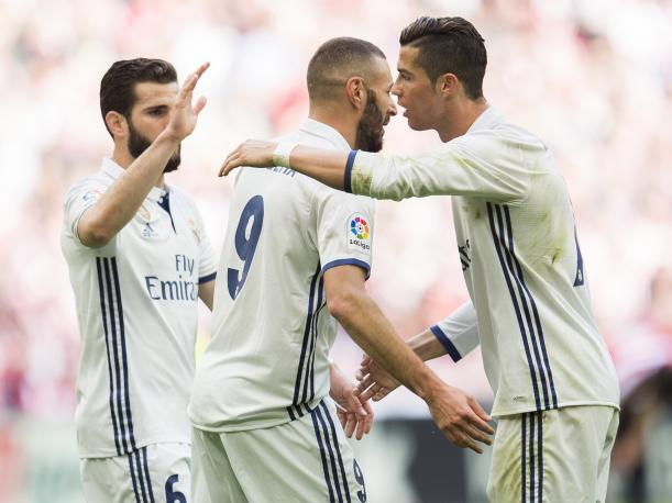 Real Madrid derrotó 2-1 al Athletic Bilbao por LaLiga Santander