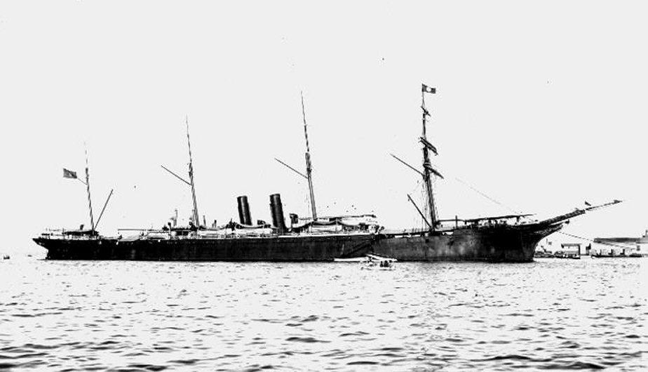 1. El barco a vapor General Sherman. (Foto: Referencial/Naval Historical Center/Wikipedia)
