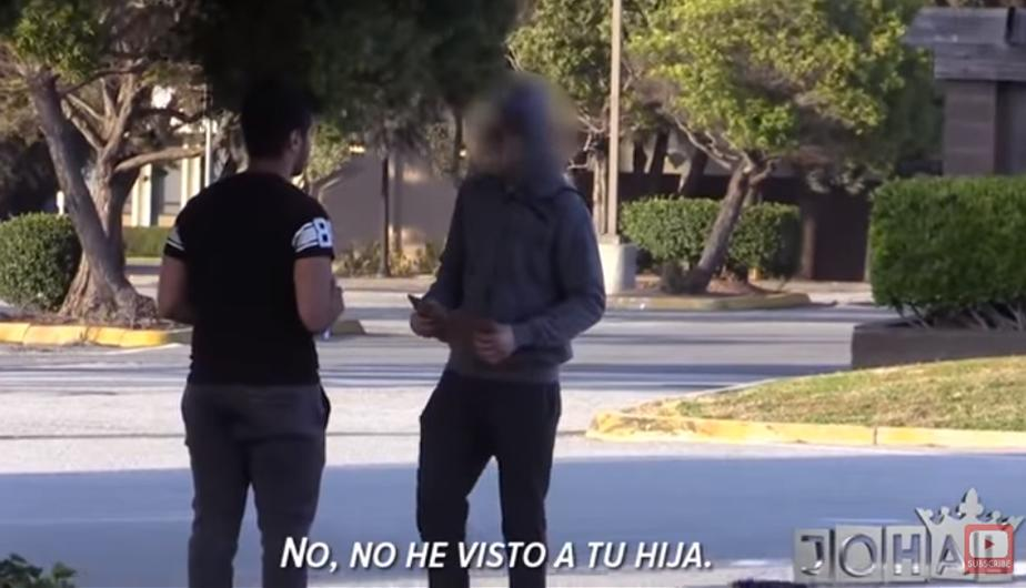 El chico conoció a un vagabundo. (Foto: captura YouTube)
