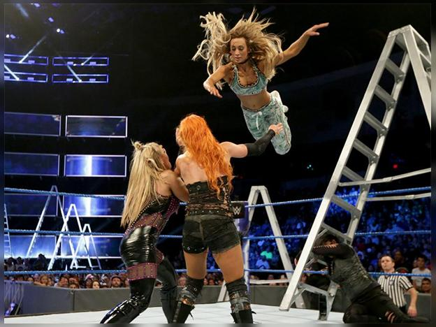 WWE: Carmella ganó segundo Money in the Bank femenino ¿Intervino James Ellsworth?