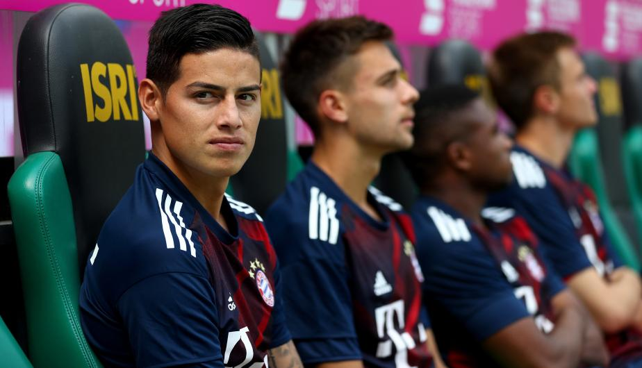 James Rodríguez. (Foto: Getty Images)