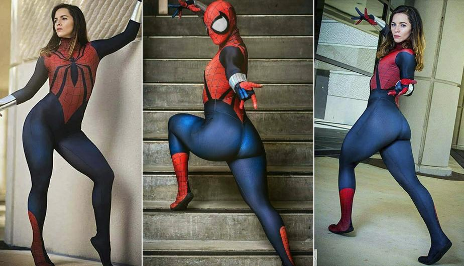 Instagram: sexy cosplayer se viste como Spiderman y 'explota' las redes. (foto: captura)