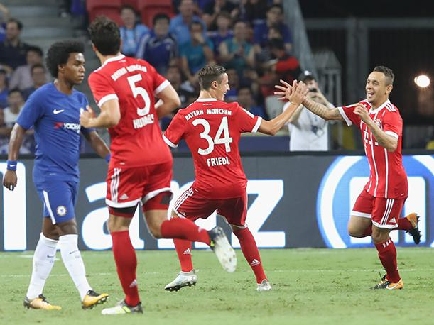 Con James: Bayern Munich venció 3-2 al Chelsea por International Champions Cup