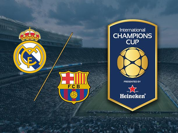 Resultado de imagen para real madrid vs barcelona international champions cup
