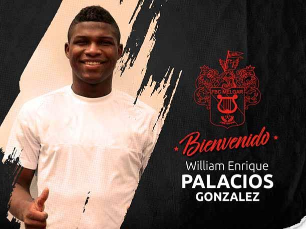 Melgar fichó al colombiano William Palacios para el Torneo Clausura