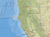 USA: sismo de 5,7 grados se registró en la costa norte de California