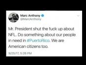 "Marc Anthony a Donald Trump: ""Cierra la maldita boca"""