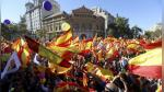 Barcelona: miles marcharon contra independentistas catalanes - Noticias de sociedad civil