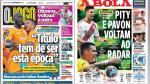 Paolo Hurtado y crisis en el Real Madrid en portadas internacionales - Noticias de james forshaw