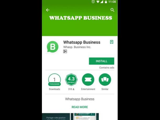 Reportan aparición de falso WhatsApp Business en Google Play