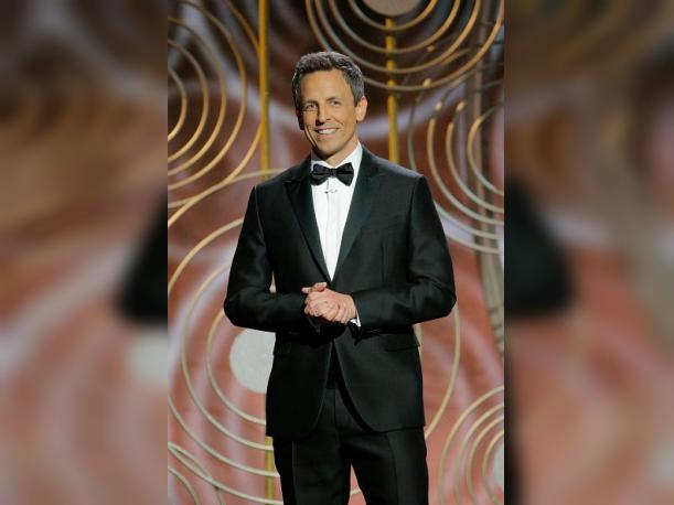 Foto : Seth Meyers no escatimó en dardos contra Donald Trump. (Foto: gettyimagenes)