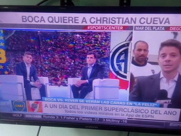 ESPN y la noticia de Christian Cueva y el interés de Boca Juniors. (Foto: Facebook)