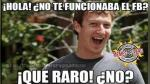 Facebook: crueles memes se burlan de la caída de la red social a nivel mundial - Noticias de mark quartiano