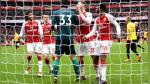 Watford de André Carrillo perdió 3-0 con Arsenal en la Premier League - Noticias de fc arsenal