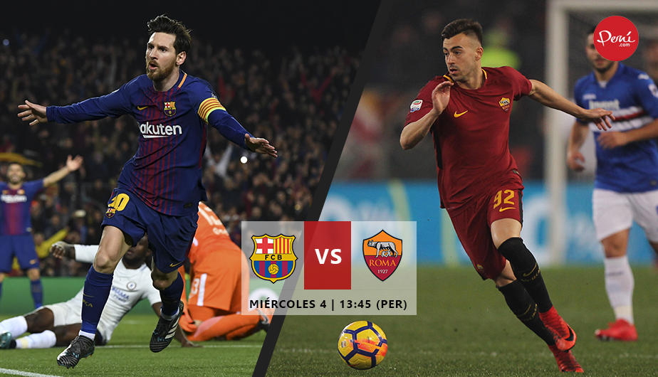 Image Result For Vivo Roma Vs Barcelona En Vivo Final