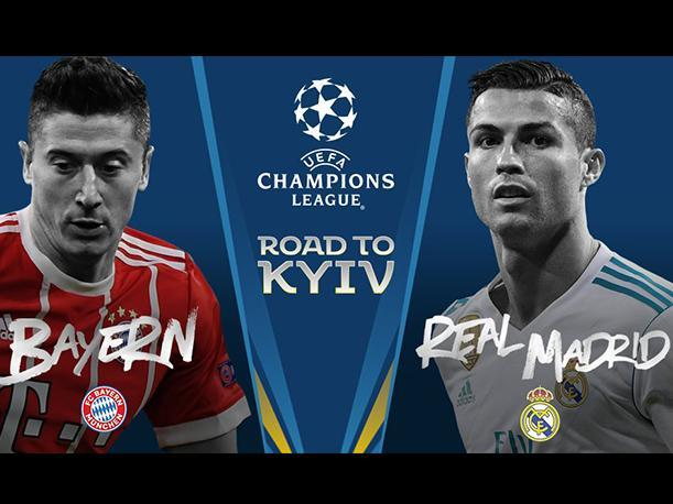 Bayern Munich vs Real Madrid | UEFA Champions League/twitter