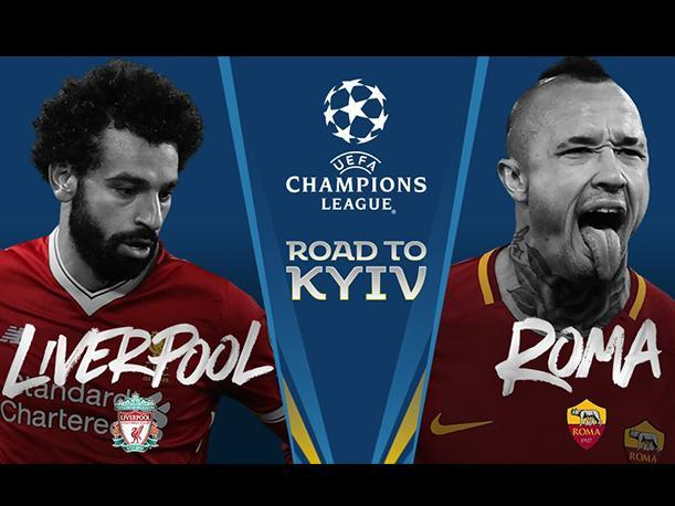 LIverpool vs AS Roma | UEFA Champions League/twitter