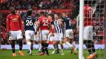 Manchester United cayó 1-0 ante West Brom por la Premier League - Noticias de west bromwich albion