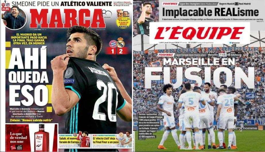 Real madrid protagoniza las portadas internacionales de for Futbol real madrid hoy