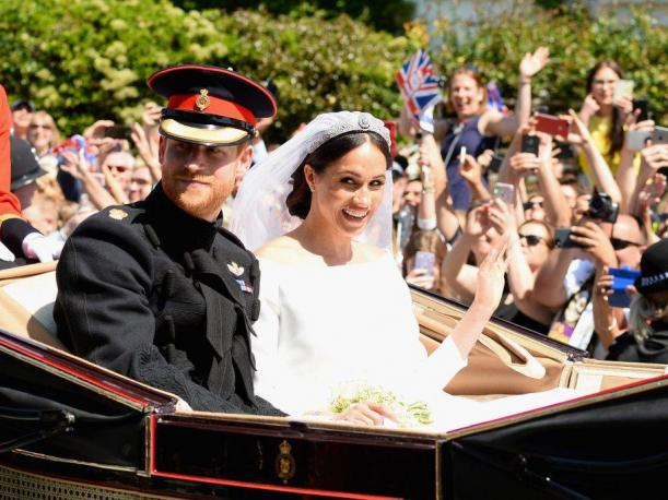 Foto 5: Meghan Markle junto al Príncipe Harry. (Foto: Getty Images)
