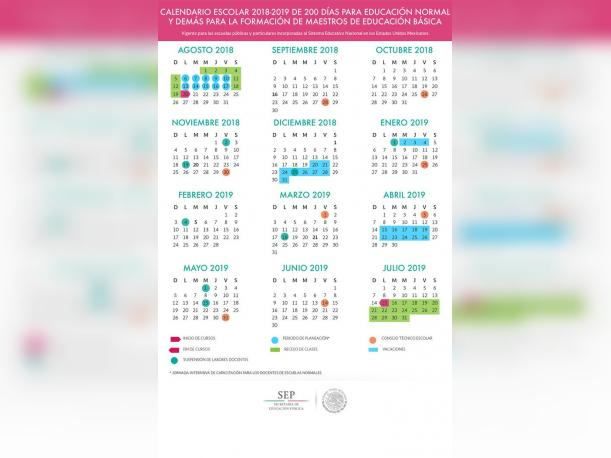 Calendario Escolar de 200 días (Foto: SEP)