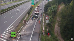 Sufre terrible accidente tras quedarse dormido al volante en autopista de China - Noticias de accidente de transito