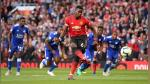 Manchester United venció 2-1 a Leicester en su debut en la Premier League - Noticias de stoke city