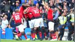 Manchester United derrotó 2-1 al Everton por la Premier League - Noticias de malaki paul