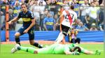 Boca Juniors y River Plate empataron 2-2 por la primera final de la Copa Libertadores - Noticias de torneo local