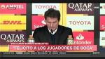 River Plate vs Boca Juniors: la tristeza de Barros Schelotto en conferencia tras perder la final - Noticias de conferencia