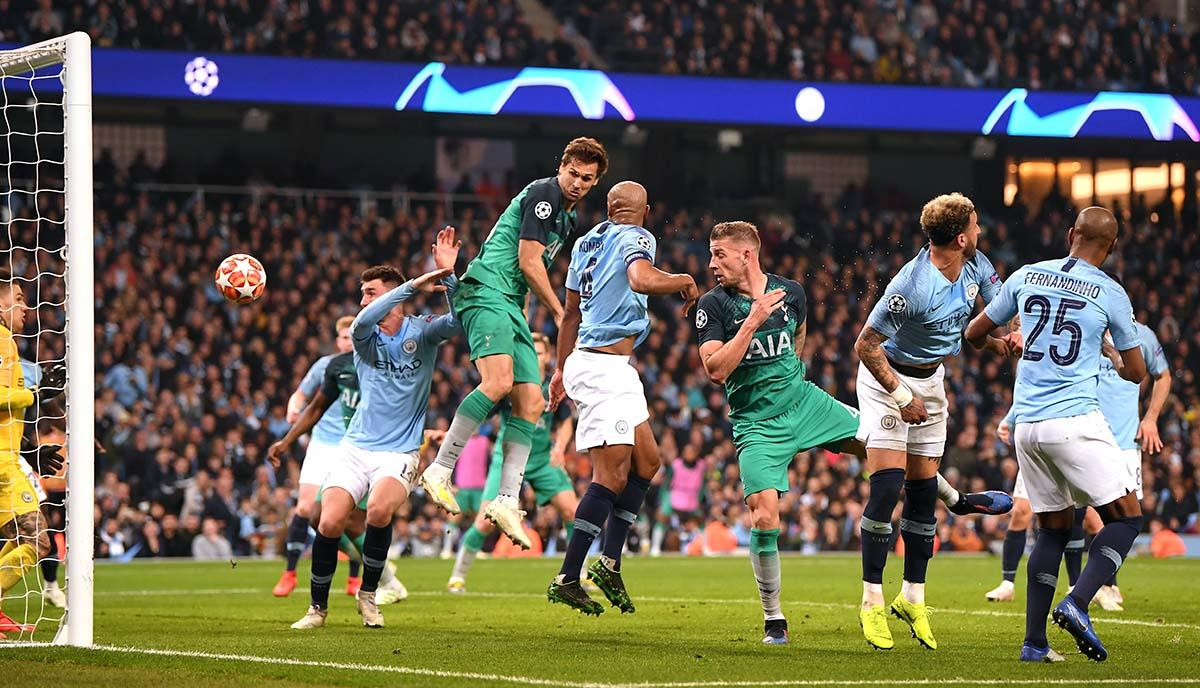 Manchester City Tottenham Hotspur En Vivo Youtube