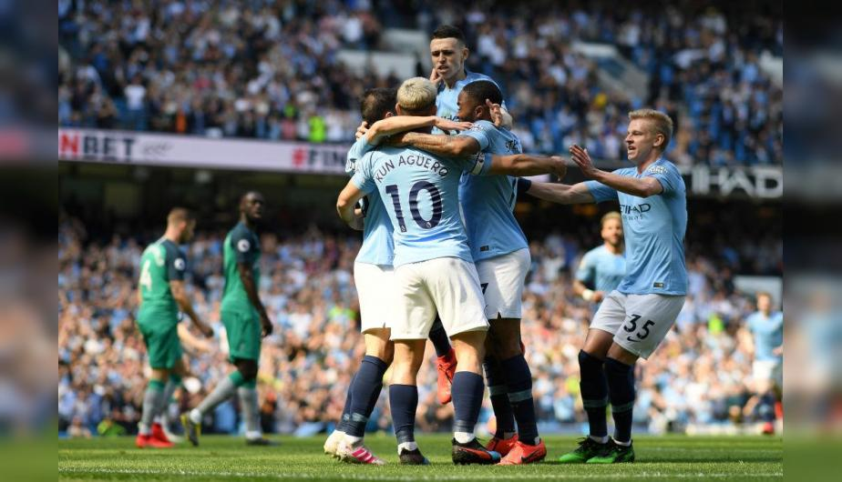 Manchester City X Tottenham Hotspur En Vivo Youtube