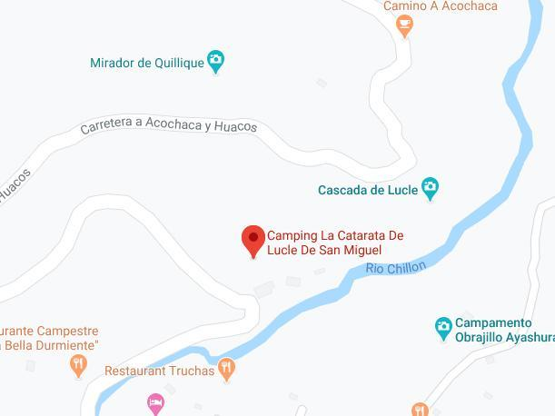 Catarata de Lucle. (Foto: Captura/Google Maps)