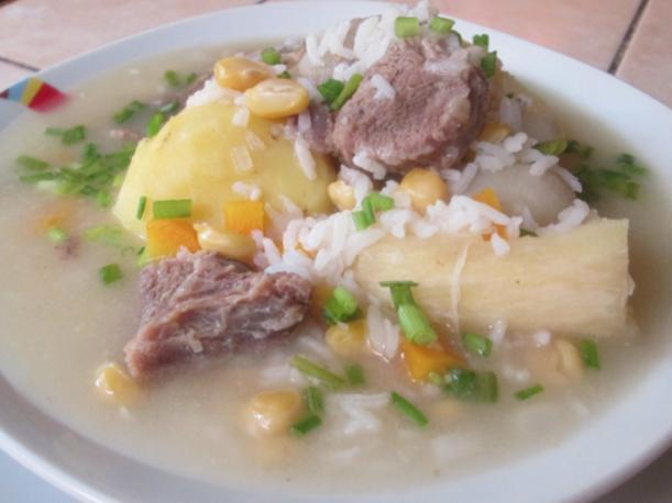 Caldo blanco. (Foto: YouTube/ Captura-La Peruanita Express)